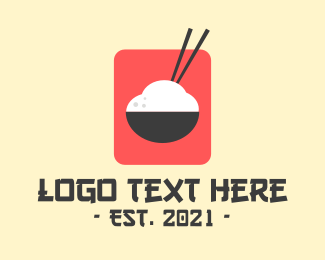 Japanese Rice Bowl Logo