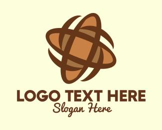 Espresso - Spinning Baguette Bread logo design