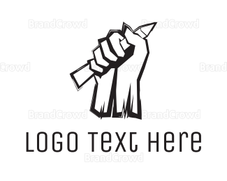 Fighting - Education Revolution logo design
