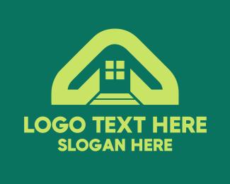 Home Furnishing - Eco Homes logo design