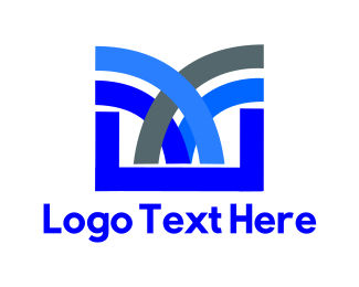 Fountain - Blue Fountain logo design