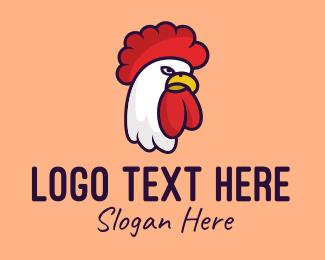 Diner - Chicken Rooster Poultry logo design