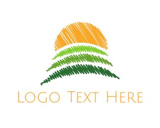 Field - Sunny Field logo design