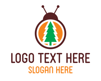 Pine - Pine Bug logo design