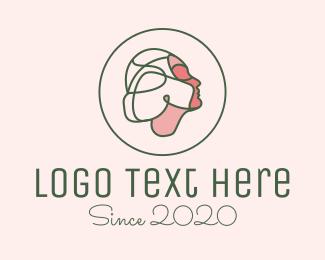 Feminine - Fashion Face Beauty logo design