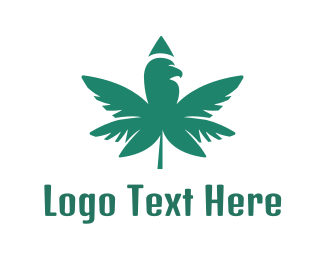 Cannabis Oil - Moss Green Cannabis logo design