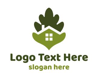 Green Leaf House Logo