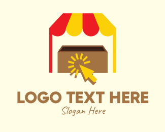 Tent - Add To Cart Tent logo design