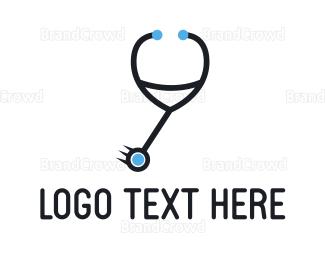 Injection - Doctor Pendulum logo design