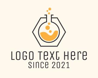 Chemical - Test Tube Chemical  logo design
