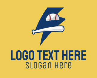 Fanclub - Lightning Baseball Team logo design