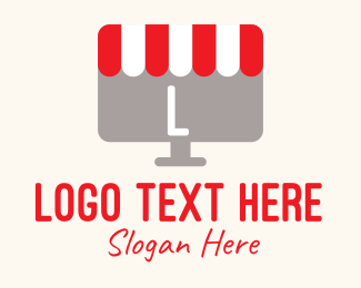Stall - Computer Store Lettermark logo design