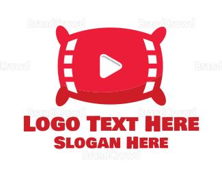 Video Player - Pillow Video logo design