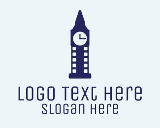 Clock - London Movie logo design