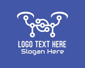 Logo - Circuit Drone logo design
