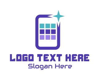 Mobile App - Mobile App Tech logo design