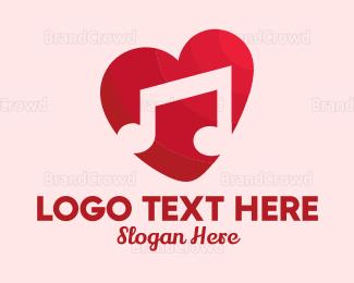 Musician - Romantic Music logo design