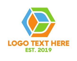 Shattered - Hexagon Gaming logo design
