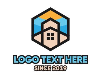 Catholic - Hexagon Chapel  logo design