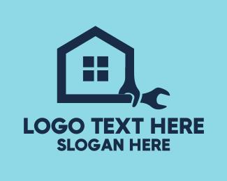 Rental - House Repair logo design