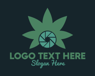 Cannabis - Photo Cannabis logo design
