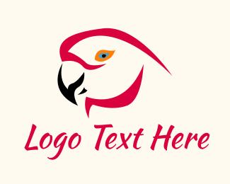 Animal - Parakeet Bird logo design