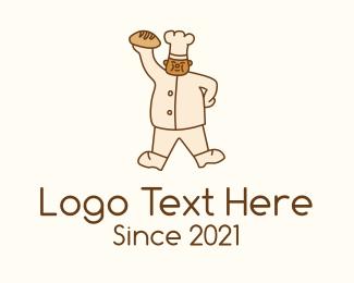 """""""Pastry Chef Mascot """" by AleksandrO"""