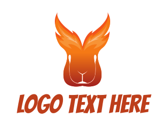 Fire - Fire Rabbit logo design