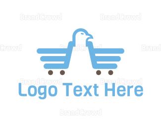Cart - Eagle Market logo design