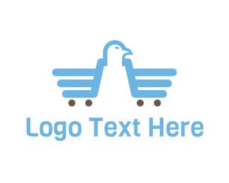 Market - Eagle Market logo design