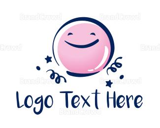 Learning Center - Celebration Face logo design