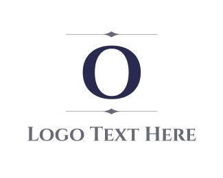 Letter O - Elegant Letter O logo design