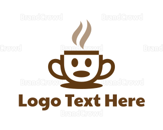 Character - Coffee Character  logo design