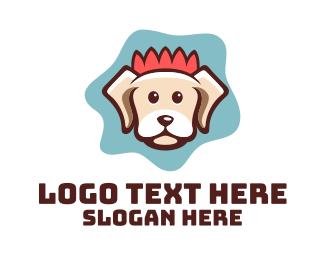 Pet Store - Happy Pet Dog Veterinary logo design