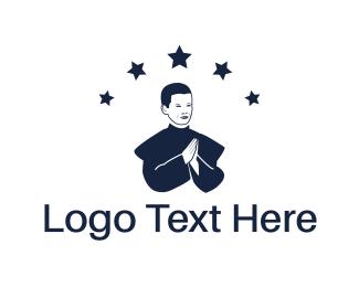 Choir - Priest Boy logo design