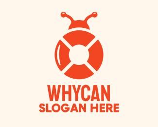 Bug Bug Life Saver logo design