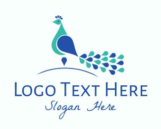 Peacock - Elegant Peacock logo design
