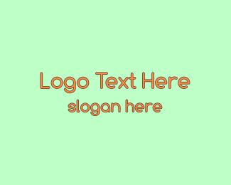 Banner - Modern Round Orange logo design