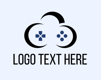Gamestick - Cloud Game logo design