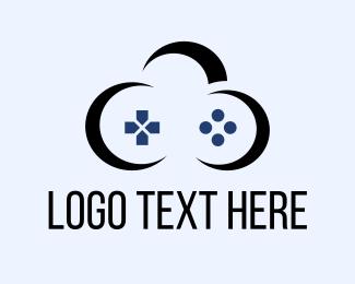 Console - Cloud Game logo design