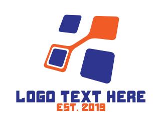 Futuristic - Futuristic Square  logo design