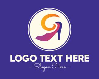Trendy - Fancy Fashion Stiletto logo design