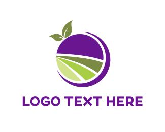 Cherry - Berry Farm logo design