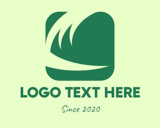 Fertilizer - Green Abstract Square logo design