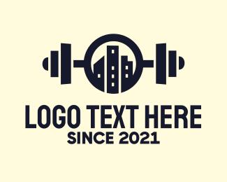 Gym - Urban City Fitness Gym logo design