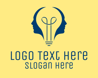 Idea - Bright Idea People  logo design