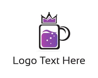 Nightclub - Royal Drink logo design