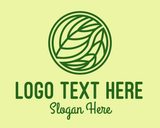 Ecofriendly - Organic Green Leaf logo design