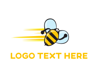 Sting - Speed Bee logo design