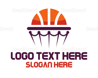 Mvp - Basketball Hoop logo design
